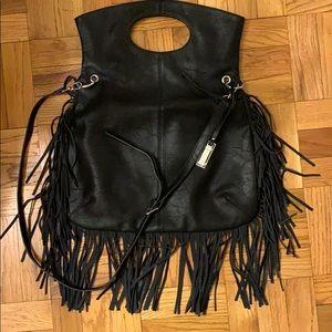 Urban Originals NWOT Black Fringe Bag